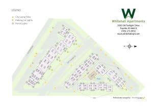 Whitehall Apartments Site Map